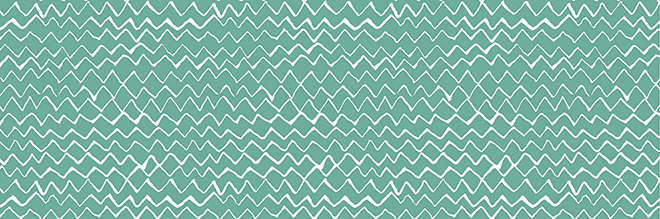 7904 freehand zigzag mint
